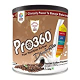 Pro360 Diabetic Protein Powder Nutrition Health Drink For Diabetes Care 500GM pack