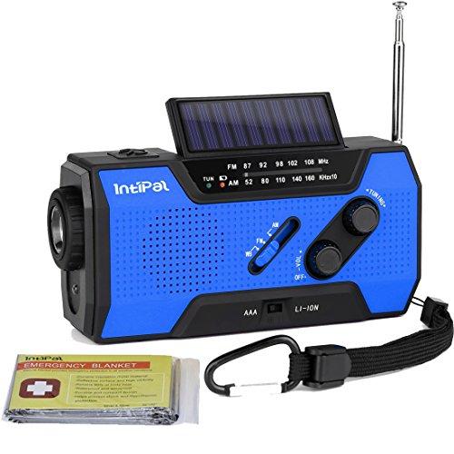 Radio Solaire Portable, IntiPal Radio...