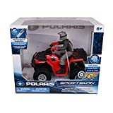 NKOK Polaris 1: 8 Rc Sportsman XP 1000 with Turbo Boost & Rider (Colors May Vary)