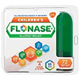 One 72-spray bottle of Flonase Children's Allergy Relief Nasal Spray, relieves kids' worst allergy symptoms in an easy to use bottle Children's Flonase contains the number 1 pediatrician prescribed allergy medicine (based on the cumulative IMS prescr...