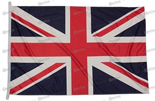 Großbritannienfahne 150x100 cm aus nautischem Windschutzgewebe von 115 g/m2, waschbare UK Fahne 150x100, professionelle Großbritannien Flagge 150x100 mit schnur, Kappnaht und Verstärkungsband am Rand