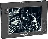 Puzzle 1000 Teile Zwei Skelett-Piraten-Porträts - Klassische Puzzle, 1000 / 200 / 2000 Teile, edle...