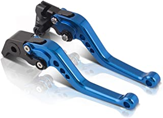 color tree Short Adjustable Brake Clutch CNC Levers Set Pair for fit Yamaha YZF R1 2004-2008,YZF R6 2005-2016,R6S CANADA VERSION 2006,R6S EUROPE VERSION 2006-2007