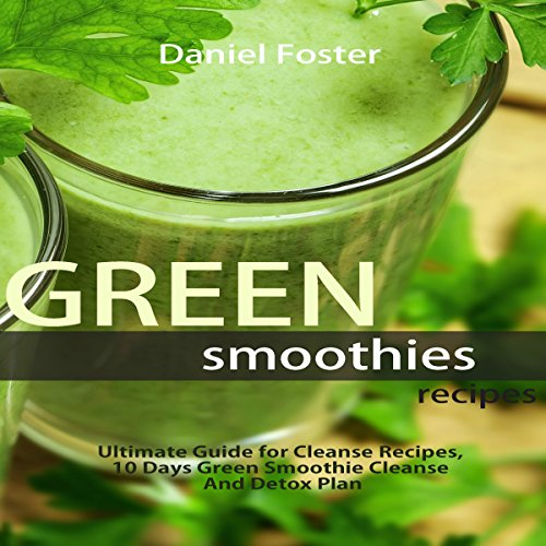 Green Smoothies Recipes audiobook cover art