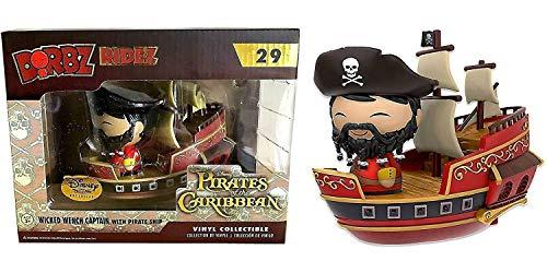 USA OFFICIAL Piratas del Caribe DORBZ 29 Wicked Wench Capitán Disney Treasure Exclusive Funko