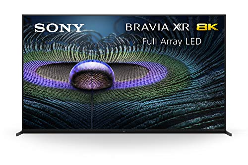Sony Z9J 85 Inch TV: BRAVIA XR Full Array LED 8K Ultra HD Smart Google TV with Dolby Vision HDR and Alexa Compatibility XR85Z9J- 2021 Model