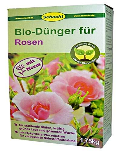 SCHACHT BIO Dünger für Rosen organisch 1,75 kg