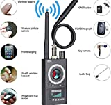 JMDHKK Anti Spy RF Detector Wireless Bug Detector Signal for Hidden Camera Laser