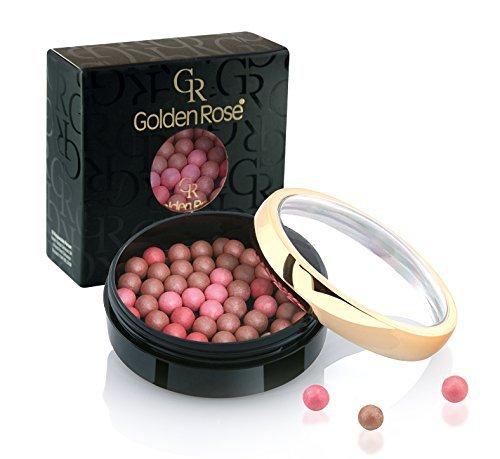Golden Rose Ball Blush Peluche douce et soyeuse Effet pêche #1 0,95 oz