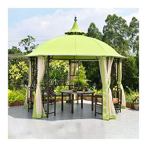 YYDD Villa Garden Furniture, Outdoor Gazebo Lawn Tent, 12x12 FT Gazebos for Patios with Netting, Garden Gazebo, Patio Pavilion, Outdoor Party Pergola, Family Gathering