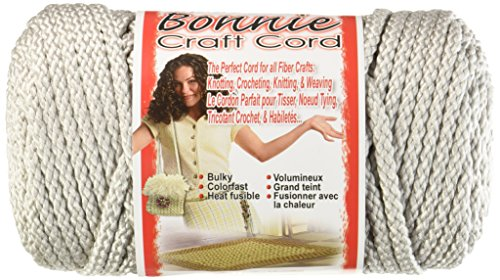 Pepperell poliolefina Fibra Bonnie macramé Craft Cord 6MMX 100Yard-Shadow Gray