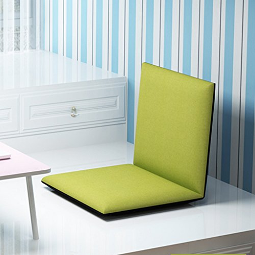 Oreiller Fu Man Li Trading Company Canapé-lit Simple Pliable Pliable avec Fauteuil canapé-lit Chaise de Chaise Flottante Chaise de Dossier A+ (Couleur : Fruit Green)