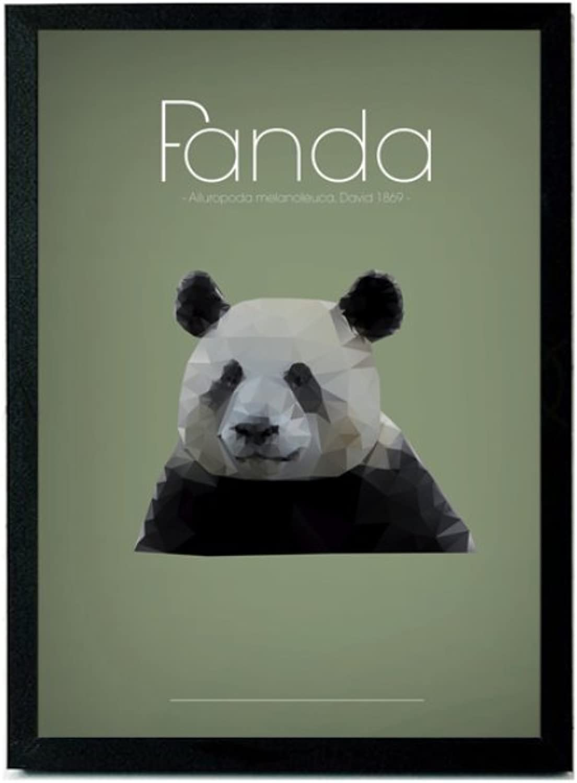 hasta 60% de descuento PANDACHOU Salón Comedor Dormitorio Pintura de Parojo Animal Animal Animal Panda Pintura Decorativa Personalidad Artística Literaria Creativa Pintura Decorativa Simple  grandes ofertas