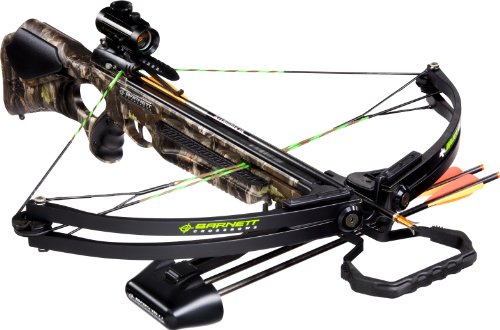 BARNETT Wildcat C5 Crossbow Package (Quiver, 3-20-Inch...