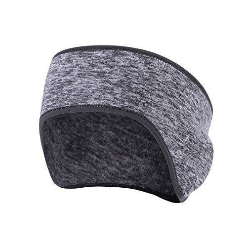Fleece Ear Warmer Cover Headband - Ear Muffs Perfect for Winter Running Yoga Skiing Riding Bike in Cold Freezing Weather