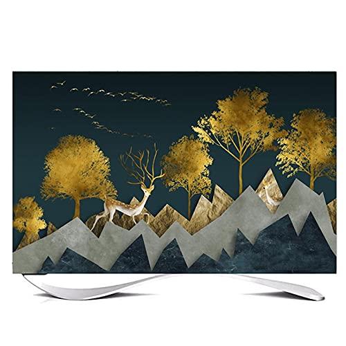 Huis 70in Indoor TV Dust Cover, Cover Type TV Screen Protector Voor Lcd Led Decoratie Televisie Set Cover Waterdichte…
