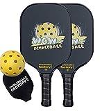 Pickleball Set, Pickleball Paddles, Pickleball Balls, Pickleball Paddle, Pickle Ball Game Set, Pickleball, Wow Fun Pickleballs, Pickle Ball Racket, pickleballs Indoor Balls