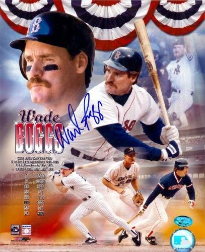 Autograph Warehouse 68883 Wade Boggs Autographed 10 Don't Fashion miss the campaign Photo x 8 Bo