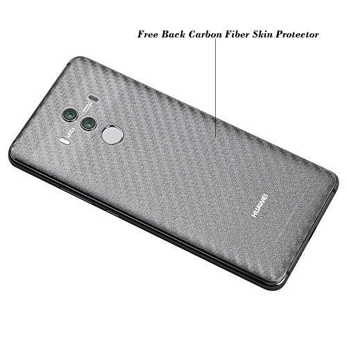 Ibywind Panzerglasfolie für Huawei Mate 10 Pro[2 Stück]-HD Displayschutzfolie,Tempered Glas Schutzglas,Handy Hartglas Schutzfolie mit Applikator für die Installation - 3