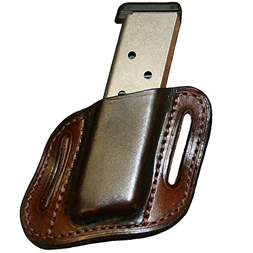 Left Hand - Tucker and Byrd Single Mag Pouch - S&W M&P Shield - Black