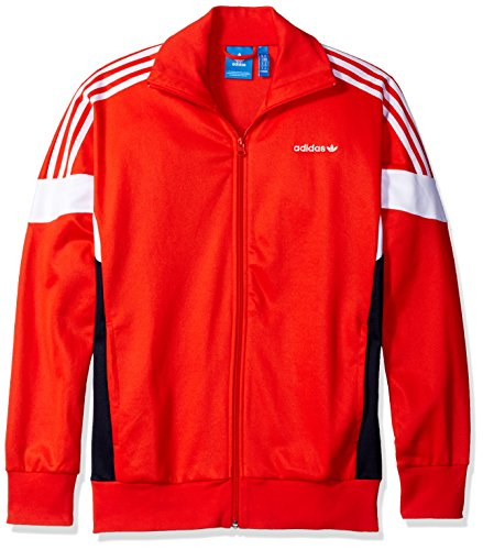 adidas Originals Men's Outerwear Challenger Track Jacket, Core Red, X-Large