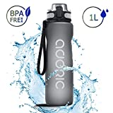 ADORIC Sport Trinkflasche, [BPA Frei Tritan]...