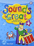 Sounds Great 4, Children's Phonics for Reading - Double-Letter Consonant Sounds (with 2 Hybrid CDs)