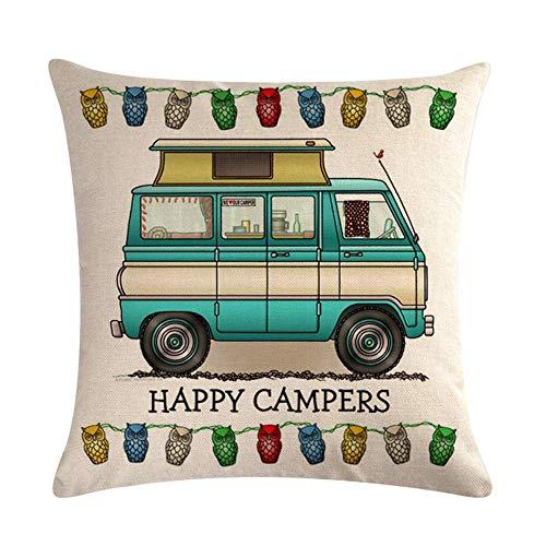 Cojín Happy Campers