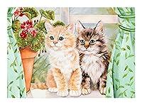 500大人のパズルのおもちゃ、かわいい猫、子供のパズルのおもちゃ、教育パズル、大人の動物のテーマのパズルセット、ロマンチックなクリスマス誕生日プレゼント(300/500/1000個) SYLOZ (Size : 300pcs)