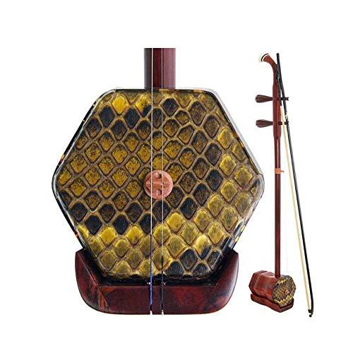 Erhu, Nationalmusikinstrument, Profi-Palisander Erhu Performance, Handmade Enthäutete Palisander Erhu, Anfänger, Erwachsene und Kinder, die Erhu (Größe: 83cm) HUERDAIIT (Size : 83cm)