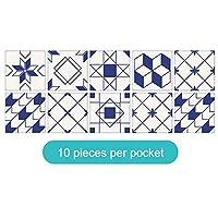 壁紙シール 防水防油ピンナップ写真ホーム/応接室/キッチン/バスルームデコレーションパスター用 (Size:200 * 200mm; Color:#28)