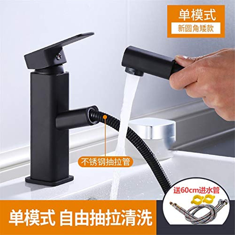 Yuanshuai2702-Faucet Kupfer-Krper-heies und kaltes Wasser-Küchen-Hahn Waschbecken-Mischbatterie