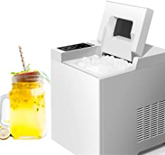Mini Automatic Electric Ice Maker, 15Kgs/24H Machine Bullet Round Block Ice Cube Coffee Shop Bar Household 1.3L Capacity