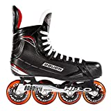 Bauer Inlinehockey Skates XR400 SR 76A Court, 9.0 (EU44.5) ABEC 5 Bearing, HI-LO Steel Chassis,...