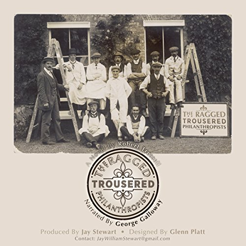 The Ragged-Trousered Philanthropists audiobook cover art