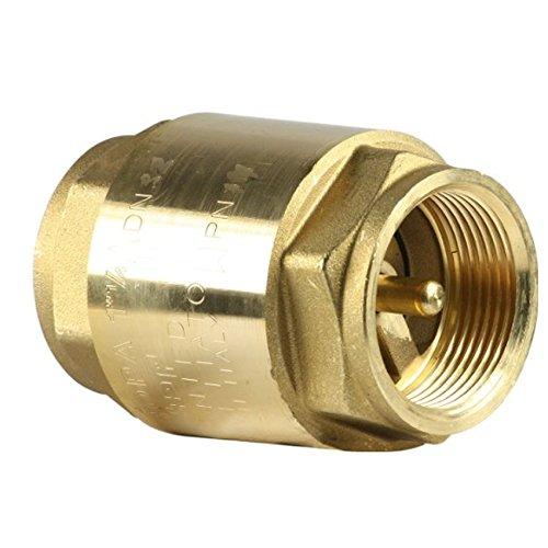Giacomini - Válvula de retención R60 no retorno, ya de latón F...