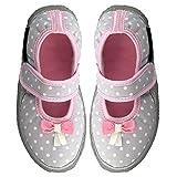 Nanga Sweety, Zapatillas de Estar por casa Niños, Gris (Hellgrau 67), 31 EU