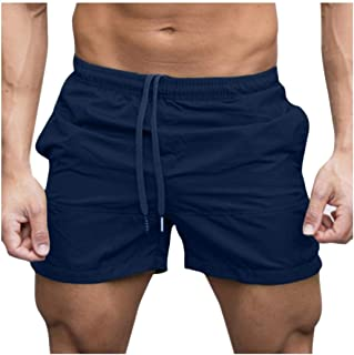 neveraway Men's Athletic Mesh Quick Dry Swimming Shorts with Pockets