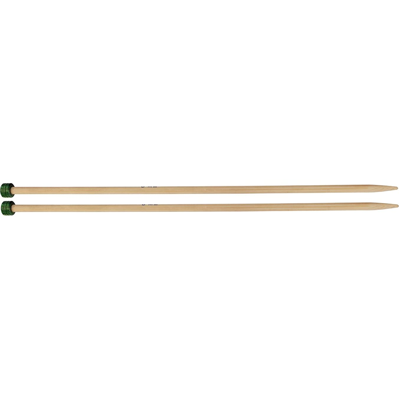 Knitter's Pride 8/5mm Bamboo Single Pointed Needles, 10