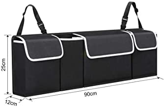 Foldable Auto Car SUV Trunk Boot Organizer Back Seat Storage Bag Travel Tidy Box