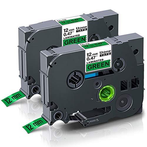 2x Schriftband-Kassette für Brother P-Touch 1280 1280VP 1290 1300 TZe-221 TZ221