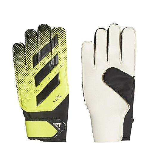 adidas X Lite Soccer Goalie Gloves Solar Yellow/Black Size 11