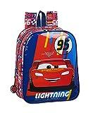 safta 612011232 Mochila guardería niño Adaptable Carro Cars, Multicolor