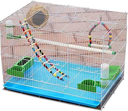 Gabbia per uccelli durevole e rispettosa dell'ambi Gabbia di volo per parrocchietti Pappagarie per grandi uccelli gabbie per uccelli per parrocchetti Cage per uccelli in ferro, gabbia pappagallo per v