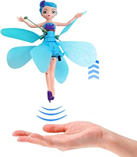 Overstep Creative Flying Doll Sensor Remote Control Flying Toy Drone Fairy Tale Ballet Girl Child Toy