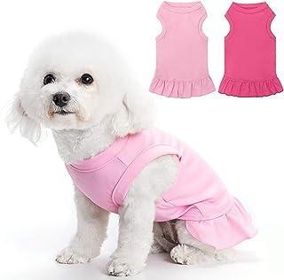 Dog Dress Girl Dog Clothes Puppy Clothes Designer Dog Clothes Dog Clothes Lil Firecracker Designer Appliqued Dog Dress