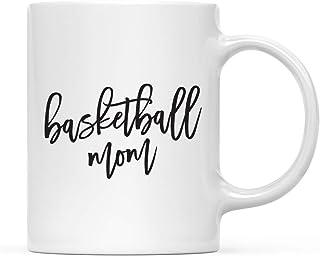 Andaz Press 11oz. Coffee Mug Gift, Mom Mother's Day, Basketball Mom, 1-Pack, Birthday Christmas Valentine's Day Present Ideas