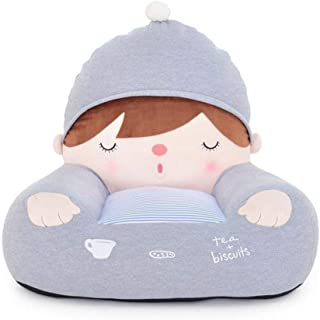 Plush Kids chairs and sofas  Cute cartoon Mini chair seat cotton filled Toddler couch Comfy chair With non-slip base 48x60x50cm 19x24x20inch