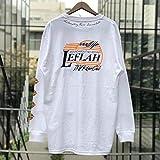 (レフラー) LEFLAH BB ロンT ロングスリーブ Tシャツ 長袖 longsleeve tee (XXL, ホワイト)