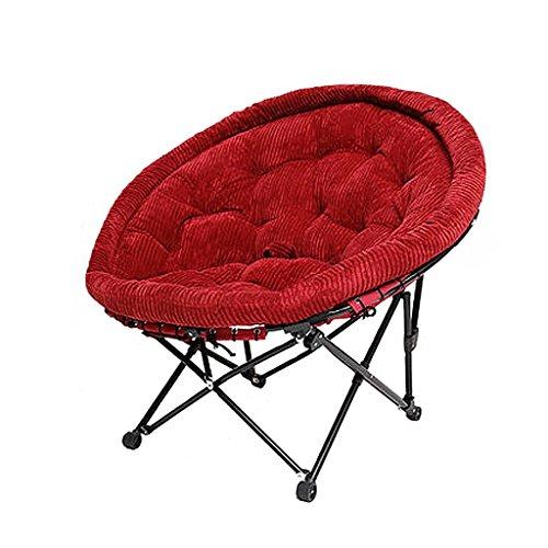 Bains de soleil Chaise pliante Sun Lounger Lazy Couch Pliante Portable Camping Barbecue Jardin Chambre Adulte, Roulement 150 kg (multicolore) (Couleur : Beige)